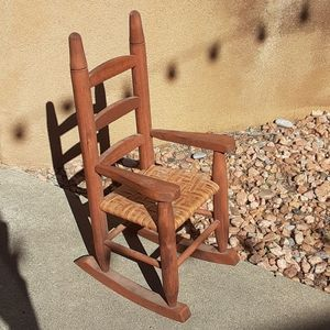 """Other - Miniature doll rocking chair 18"""" doll size"""